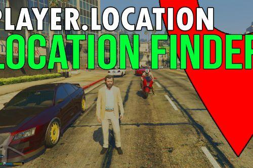 Player.Location - The One Press Location Finder.