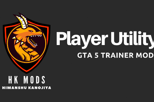 Player Utility - Single Player Trainer Mod