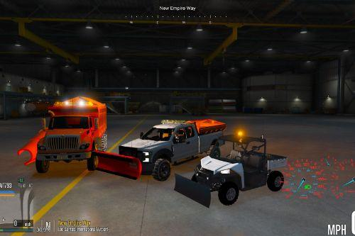Snow Plow Pack [Add-On / FiveM]