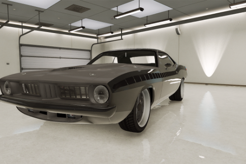 Plymouth Barracuda - Fast 7 [Add-On / Replace]