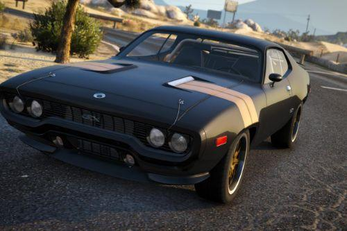 Plymouth GTX 1971 [Add-On  Template]