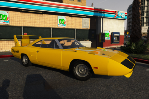 Plymouth Roadrunner Superbird (RM23) '1970 [Add-On |  Tuning]