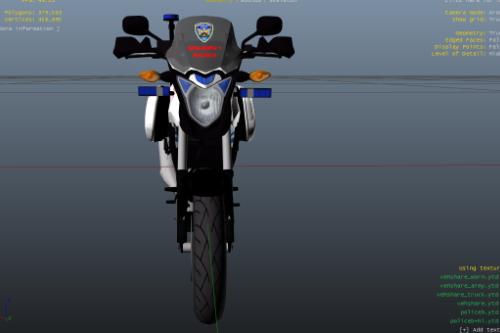 PNP HPG Police bike