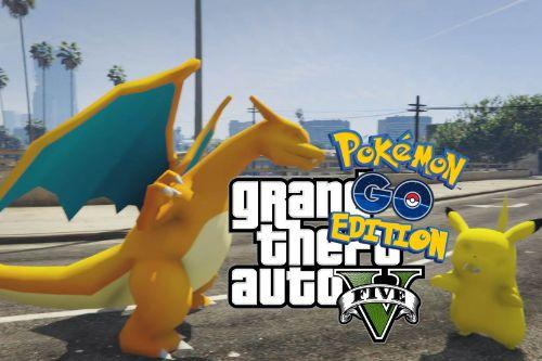 Pokémon Go GTA Edition