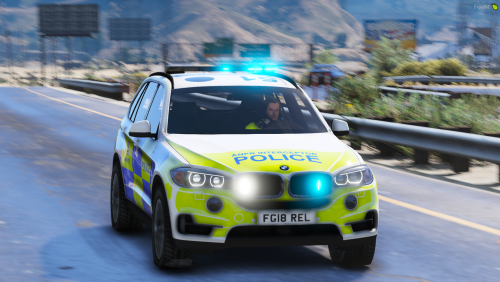 Police 2016 BMW X5 F15 [Fictional] [ELS]