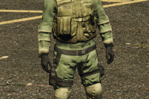 Police and FBI Special Forces (SWAT Retexture)