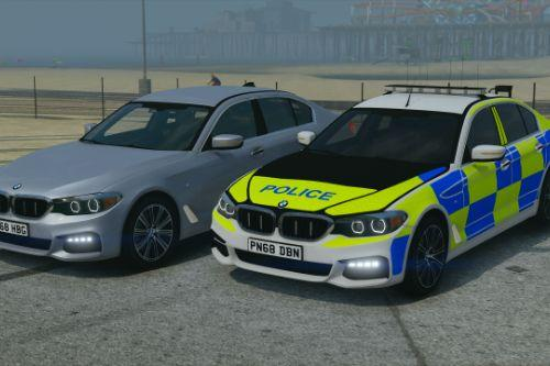 Police BMW 540i xDrive Marked & Unmarked (ELS Pack) [Replace | ELS]