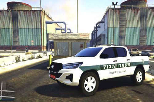 Israel Police Board Patrol | ניידת משמר הגבול