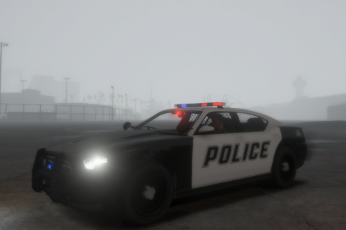 Police Bravado Buffalo S with new style(LSPD SKIN CLASSIC))