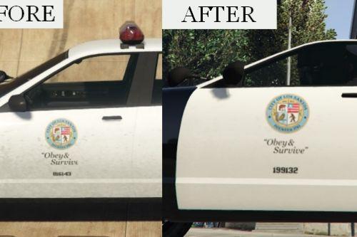 Police Cruiser Bug Fix