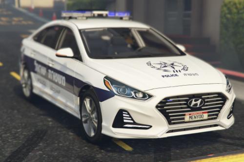 Police Hyundai sonata 2018  | יונדאי סונטה ניידת ישראל