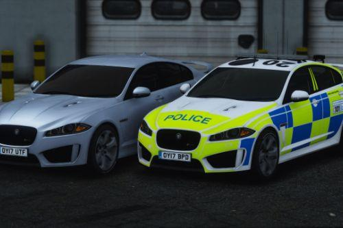 Police Jaguar XFR-S [Replace | ELS]