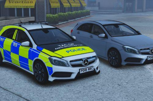 Police Mercedes Benz AMG A45 (ELS Enabled Pack) [Replace | ELS]