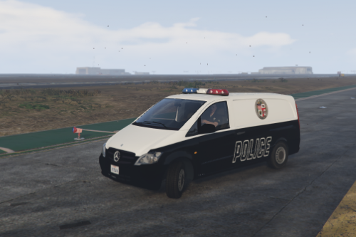 Police Mercedes-Benz Vito [Replace]