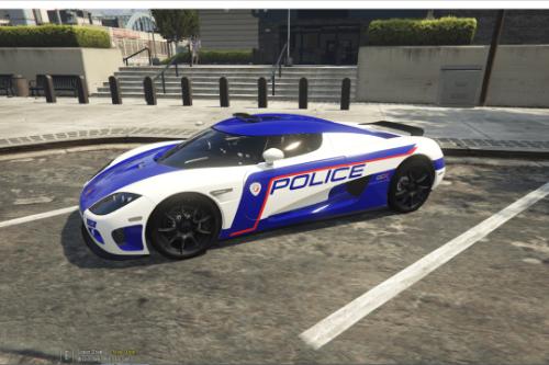 Police National Koenigsegg