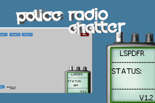 [Program] Police Radio Chatter