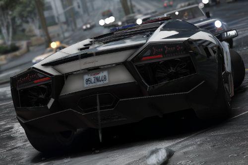 Police Saudi Arabia Lamborghini Reventon