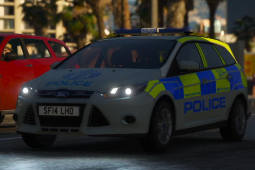 Police Scotland 2014 Ford Focus Estate IRV