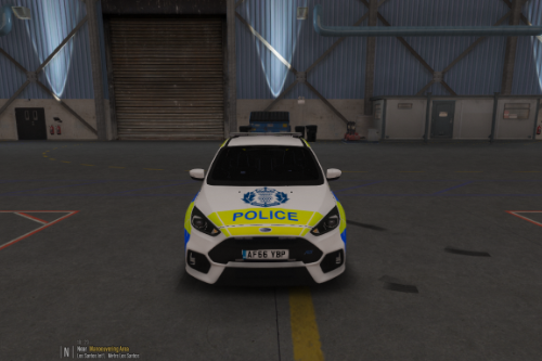 Police Scotland 2017 Ford Focus RS