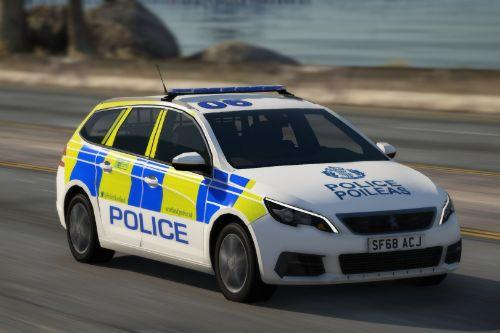 Police Scotland 2018 Peugeout 308 Estate IRV