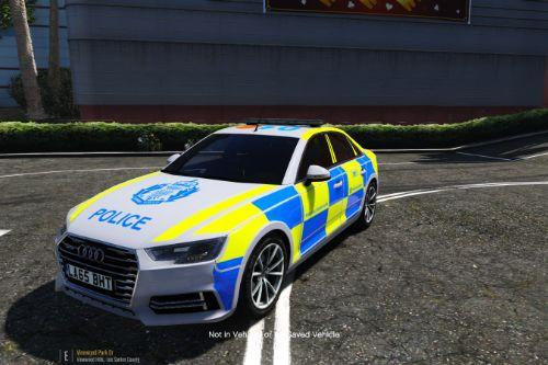 Police Scotland Audi A4