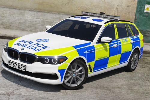 Police Scotland BMW 5 Series G31