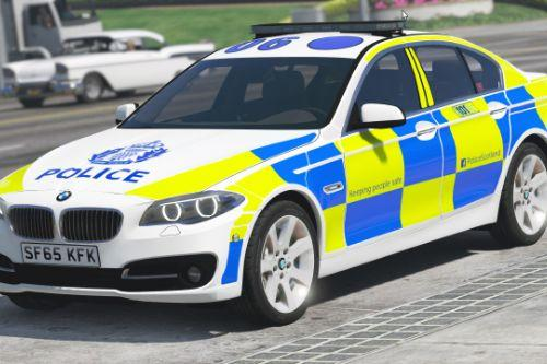 Police Scotland BMW 530D Saloon