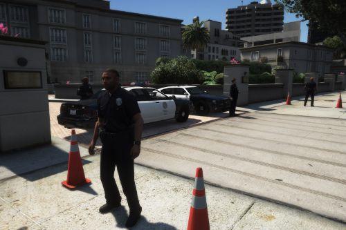 POLICE STAND [MapEditor]