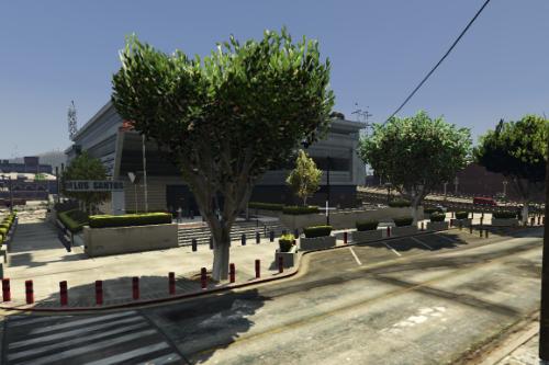 EXTERIOR POLICE STATION CITY