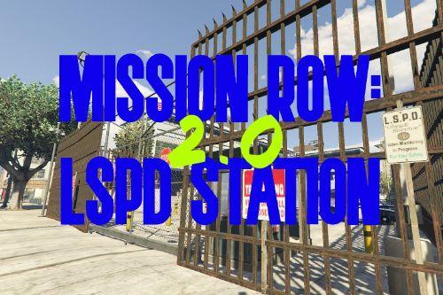 Police Station LSPD Mission Row [ YMAP / FiveM ]