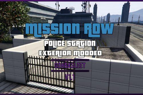 Police Station - Mission Row Exterior Modded [FiveM | SP Menyoo] [YMAP | XML]
