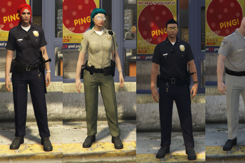 Police Trousers/Pants Textures