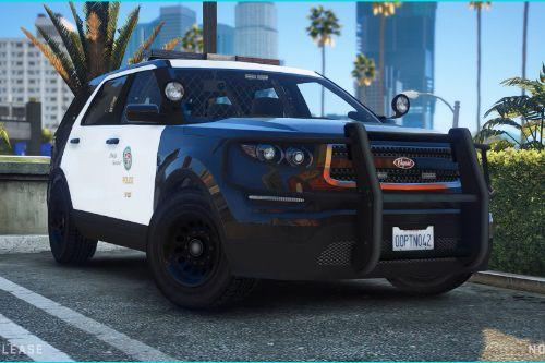 Police Vapid Scout [ Add-On / FiveM | SP | Extra's | Tuning | Unmarked | Call Sign System ]