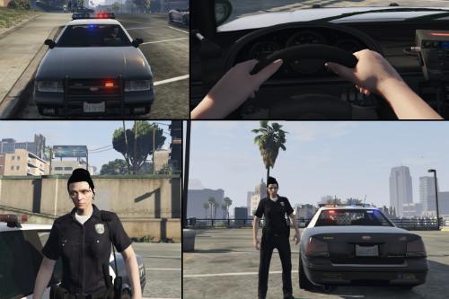 Policewoman (as player)