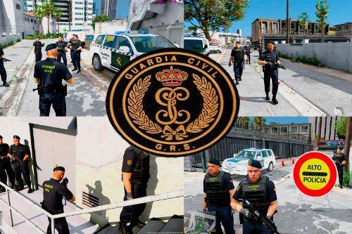 Policia Guardia Civil GRS