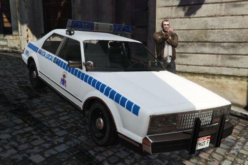 🇮🇨 Policia Local Canaria (antigua rotulacion) y Taxi Canarias 1980 Albany Esperanto