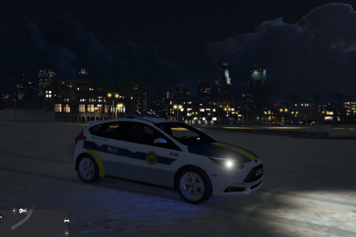 Policia Local Valencia Ford Focus ST