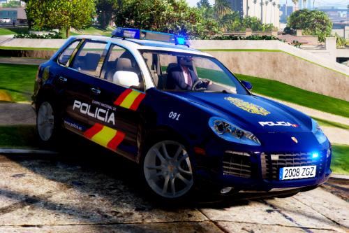 [Policía nacional España] [Paint job] [Porsche Cayyene]