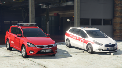 Polish Fire Department Kia Cee'd, Pack.
