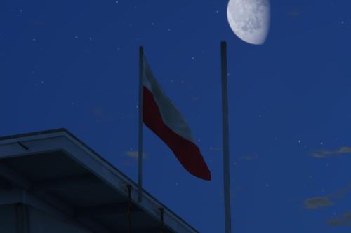 Polish flags in San Andreas! Polskie flagi w San Andreas!