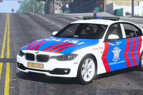 Indonesian Police PJR Livery BMW 330D