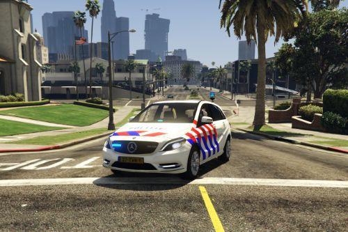 Politie Mercedes B-klasse