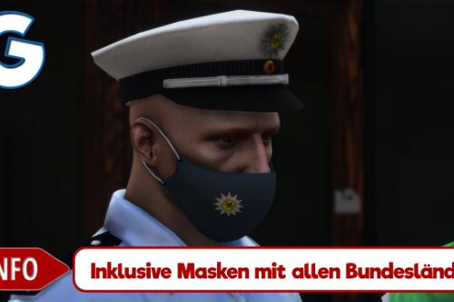 Polizei Mund- & Nasenschutz (Police mask)