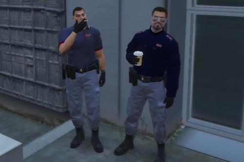 Polizia - Divisa Squadra Volante INVERNALE E ESTIVA (Cappello & Basco)