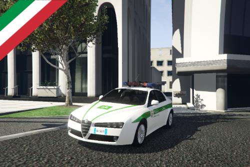 Polizia locale Alfa Romeo 159 | Comune di Milano [ELS]
