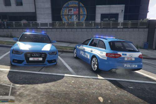 Polizia Stradale Audi A4 Avant nuova livrea