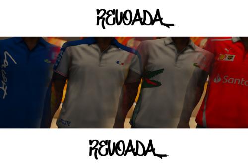 Polo Shirts--Lacoste/Santander MP MALE