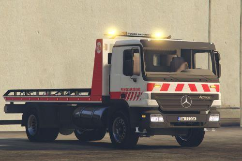 Pomoc drogowa Mercedes-Benz Actros FlatBed Tow Truck