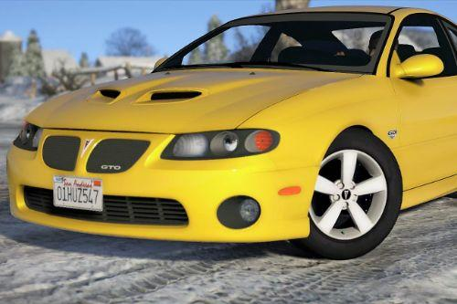 Pontiac GTO 2006 [Add-On | Replace | Livery | Extras | Template]