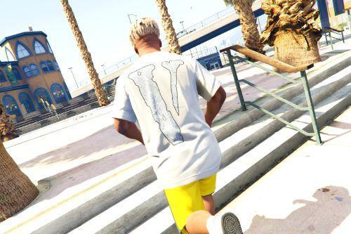 Pop Smoke x Vlone Woo T-Shirt